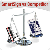 SmartSign Competitor Chart