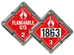 DigiLock™ Flammable Placards