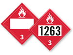 Flammable Placards